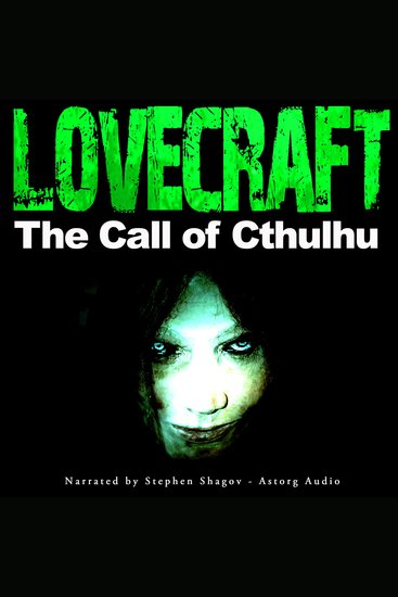 The Call of Cthulhu - cover