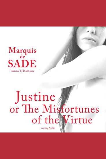 Justine or the Misfortunes of the Virtue - cover