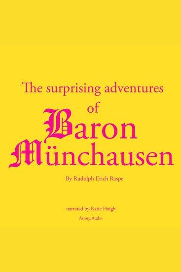The Surprising Adventures of Baron Münchausen - cover