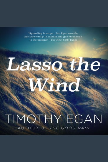 Lasso the Wind - Away to the New West - cover