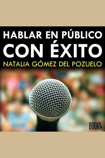 Hablar en público con éxito - cover