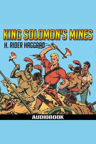 King Solomon's Mines - cover