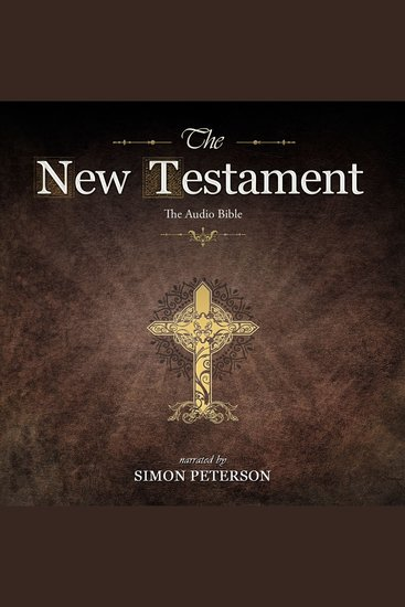 New Testament The: The First Epistle to the Corinthians - Read by Simon Peterson - cover
