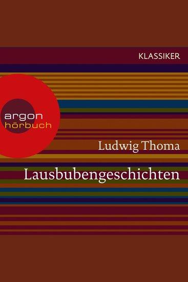 Lausbubengeschichten (Ungekürzte Lesung) - cover