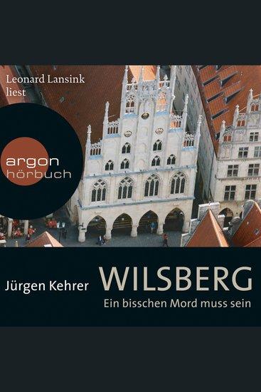 Wilsberg - Ein bisschen Mord muss sein (Ungekürzte Lesung) - cover