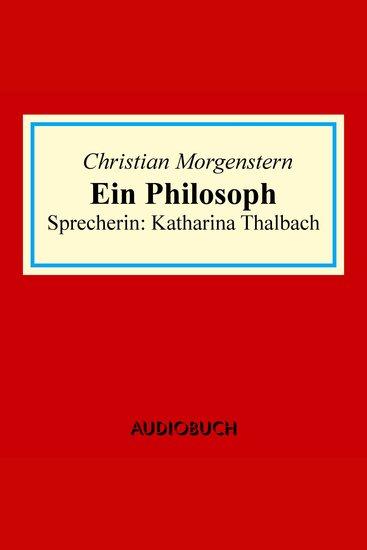 Ein Philosoph - cover