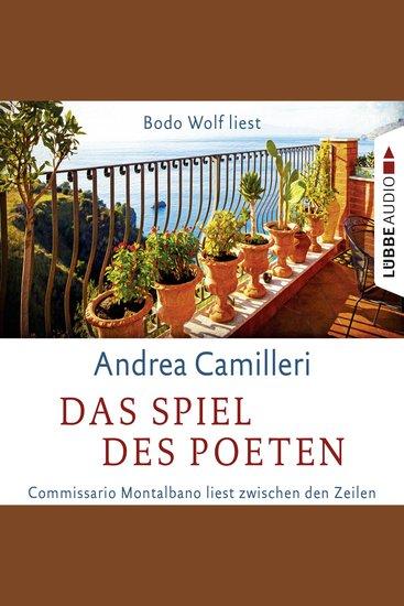 Das Spiel des Poeten - Commissario Montalbano liest zwischen den Zeilen - cover