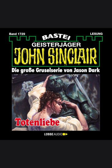 John Sinclair Band 1729: Totenliebe - cover