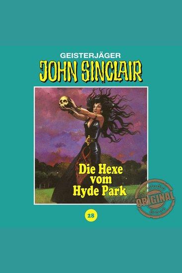 John Sinclair Tonstudio Braun Folge 28: Die Hexe vom Hyde Park - cover
