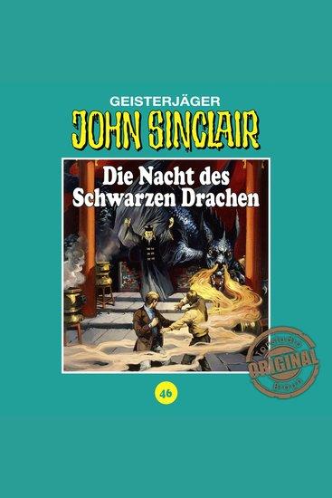 John Sinclair Tonstudio Braun Folge 46: Die Nacht des Schwarzen Drachen - cover