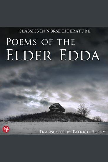 Poems of the Elder Edda - Classics in Norse Literature - cover