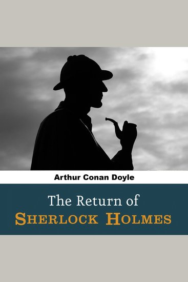 The Return of Sherlock Holmes - cover