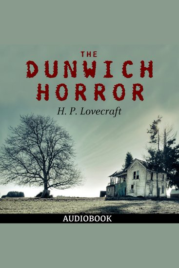 The Dunwich Horror - cover