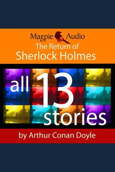 The Return of Sherlock Holmes (Unabridged) - cover