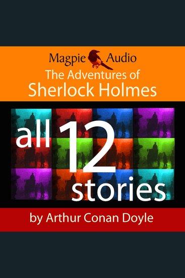 The Adventures of Sherlock Holmes (Unabridged) - cover