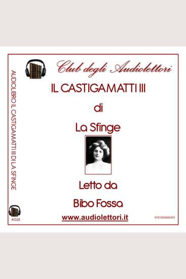 Castigamatti III Il - cover