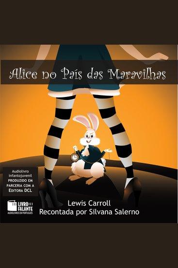 Alice no País das Maravilhas - cover