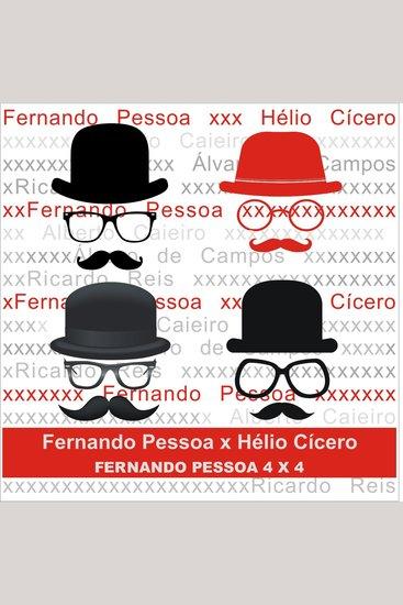 Fernando Pessoa x Hélio Cícero - cover