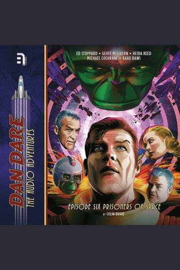 Dan Dare: Prisoners of Space - cover