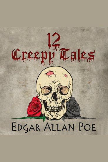 12 Creepy Tales by Edgar Allan Poe - cover