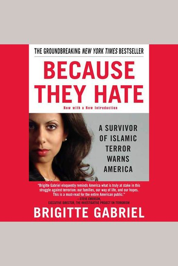 Because They Hate - A Survivor of Islamic Terror Warns America - cover