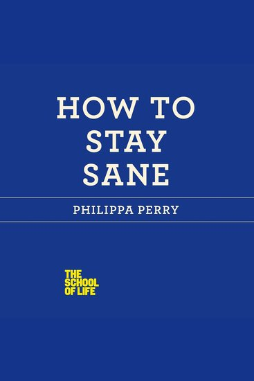 How to Stay Sane - cover