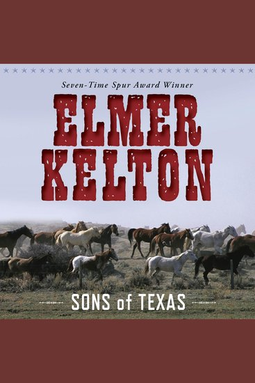 Sons of Texas - cover