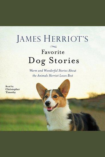 James Herriot's Favorite Dog Stories - cover