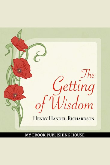 The Getting of Wisdom - cover