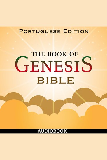 Book of Genesis (Bible 01) The - Portuguese Edition - cover