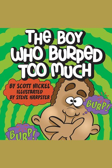The Boy Who Burped Too Much - cover