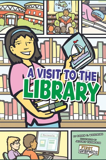A Visit to the Library - cover