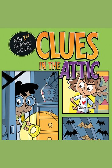 Clues in the Attic - cover