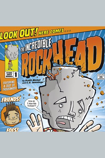 The Incredible Rockhead - cover