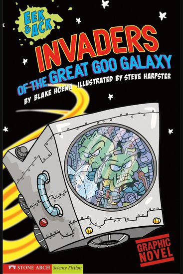 Invaders from the Great Goo Galaxy - cover