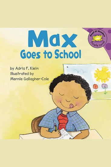 Max Goes to School - cover