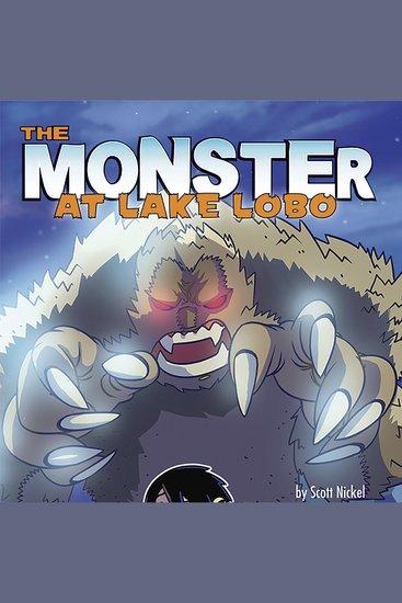 The Monster of Lake Lobo - cover