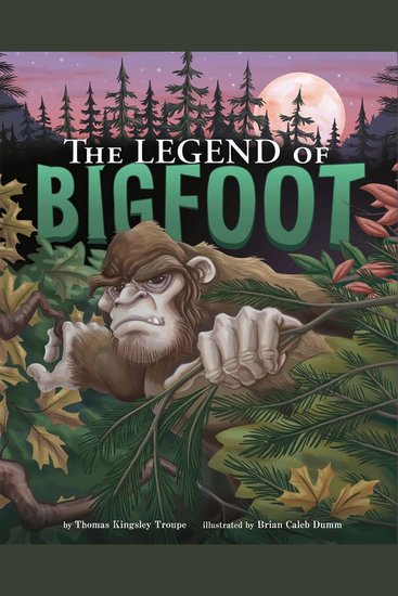 The Legend of Bigfoot - cover