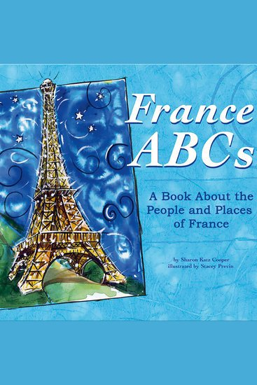 France ABCs - A Book About the People and Places of France - cover