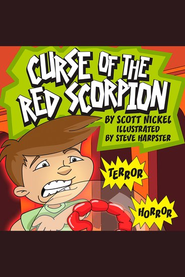Curse of the Red Scorpion - cover