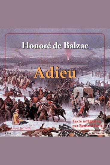 Adieu - cover