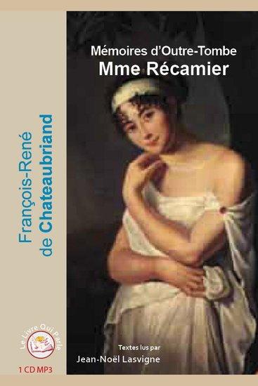 Madame Récamier - Lettres et récits - cover