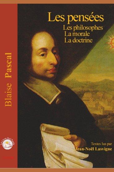Pensées - Les philosophes - La Morale et La Doctrine - cover
