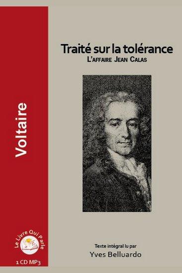 Traité sur la tolérance - L'affaire Jean Calas - cover