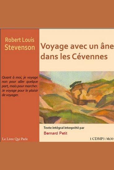 Voyage avec un âne dans les Cévennes - cover