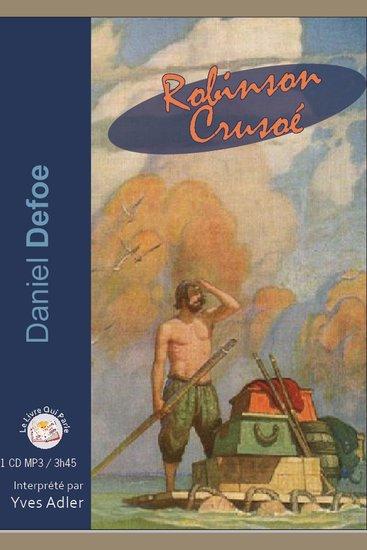 Robinson Crusoë - cover