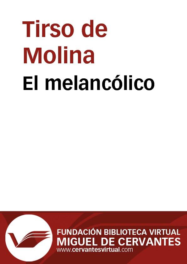 El melancólico - cover