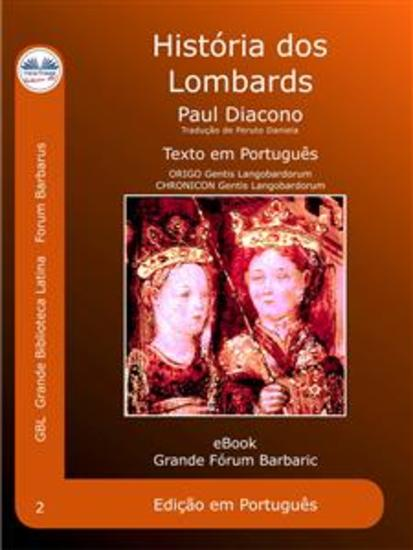 História dos Lombardos - Historia Langobardorum - cover