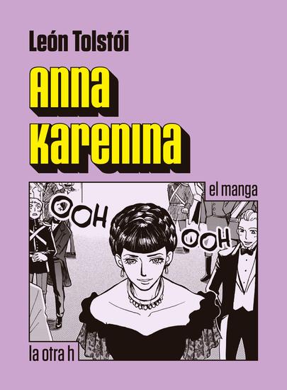 Anna Karenina - el manga - cover