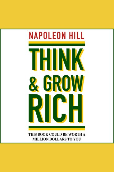 Think and Grow Rich (Unabridged) - cover